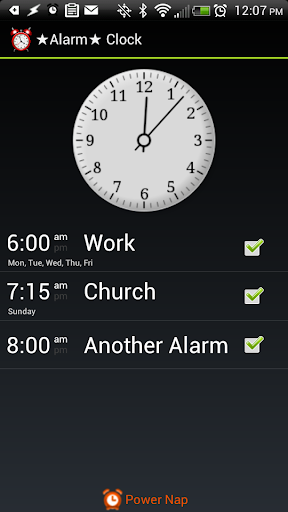 ★ Alarm Clock ★ w Snooze