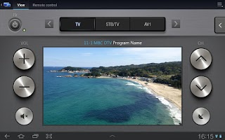 Screenshot of Samsung SmartView 1.0