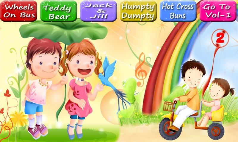 Kids Rhymes, kids poem - Vol 2 - screenshot