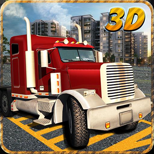真正的卡车停车3D疯狂 LOGO-APP點子