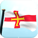 Guernsey Flag 3D Free icon