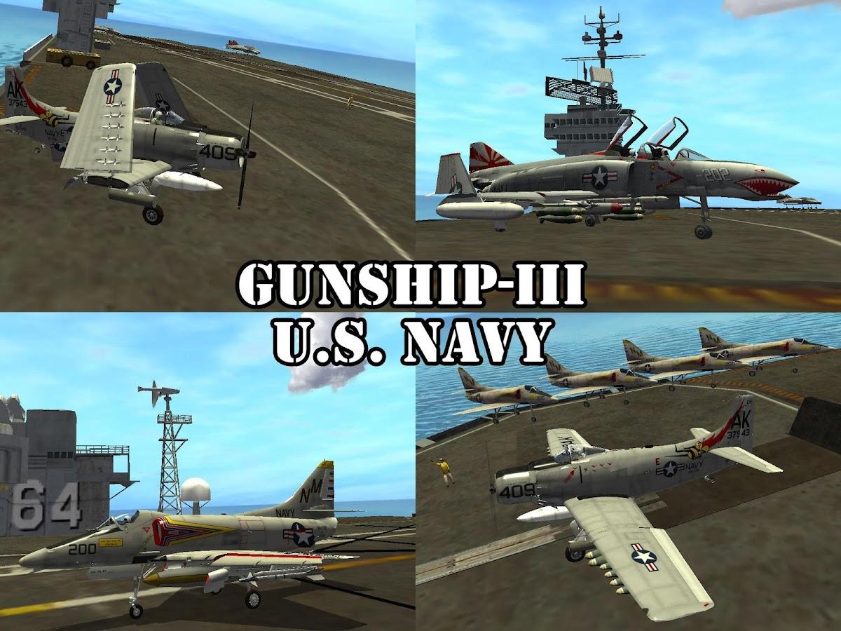 Gunship III - U.S. NAVY - screenshot