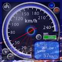GPSスピードメーターFREE(ManiaQmeterSP) logo