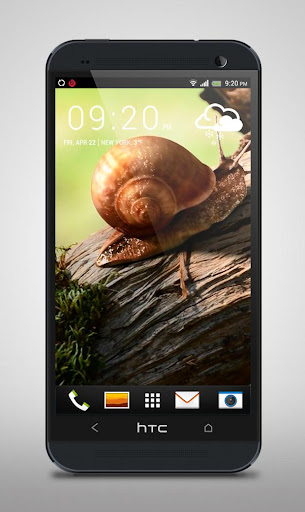 Turbo Snail Live Wallpaper