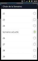 Screenshot of GLPMR Emploi du temps