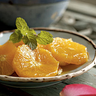 Orange Slices with Honey and Orange Blossom Water.