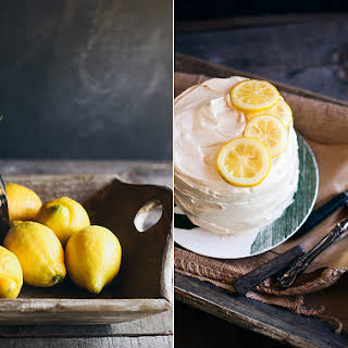 Lemon Cake With Lemon Glaze Icing Recipes.