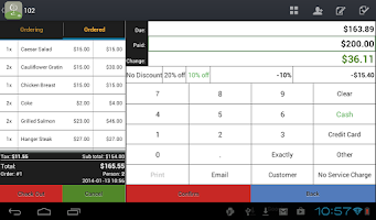 Screenshot of Restaurant POS - Point of Sale