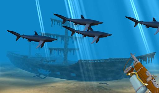 SPEARFISHING SHARK HUNTING