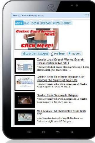 Gastric Band Surgery News- screenshot