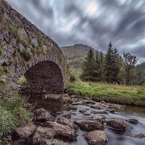 Butter Bridge by Andrew Magee - Landscapes Weather