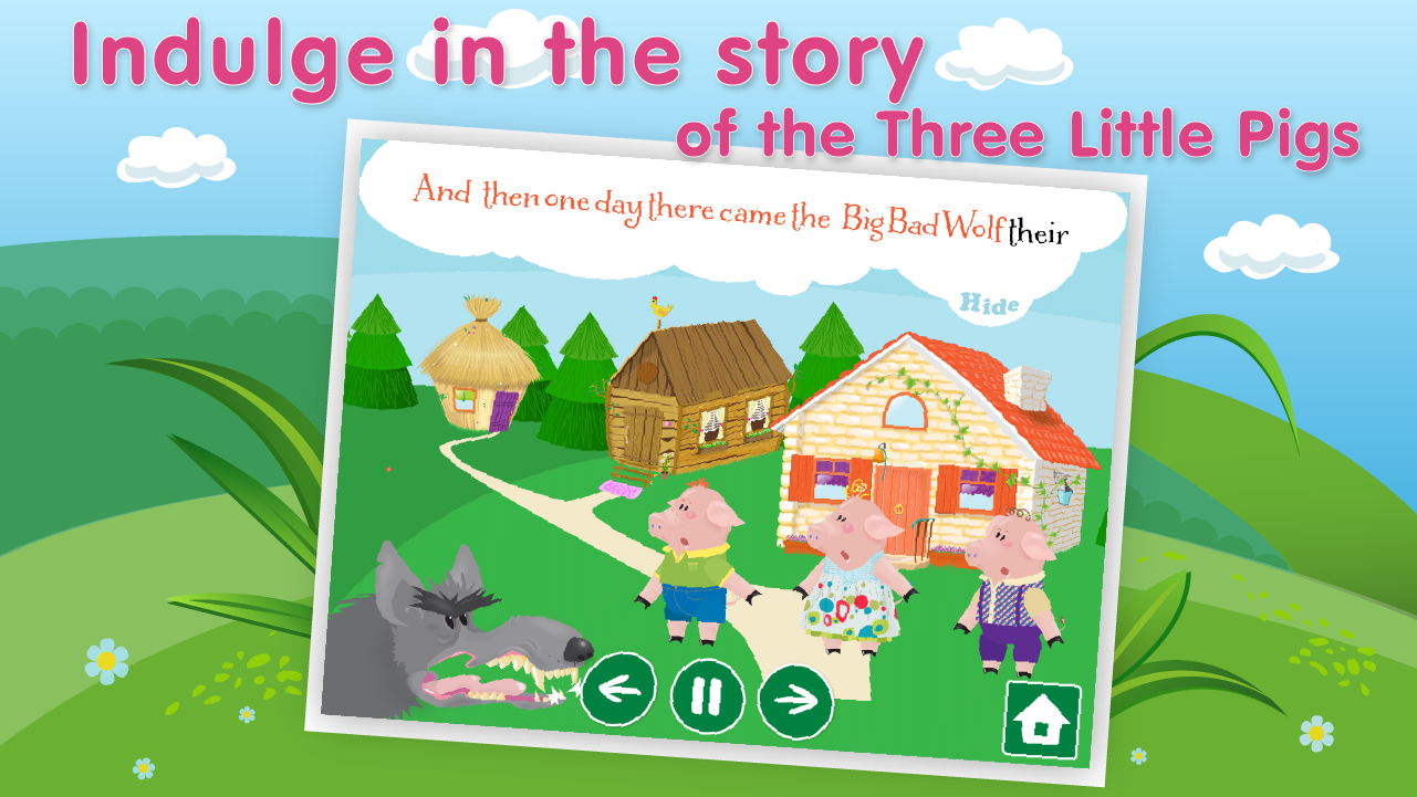 Three Little Pigs Lite - screenshot
