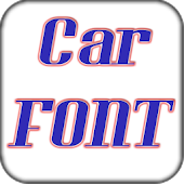 Car font pack for Galaxy