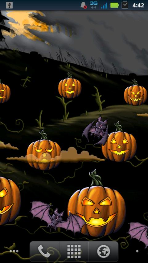 Halloween Pumpkin Smasher LWP - screenshot