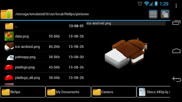 Screenshot of FileLips - File Manager