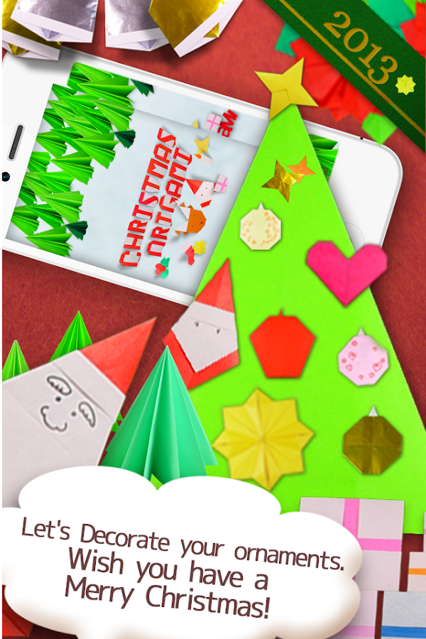 Christmas Origami- screenshot