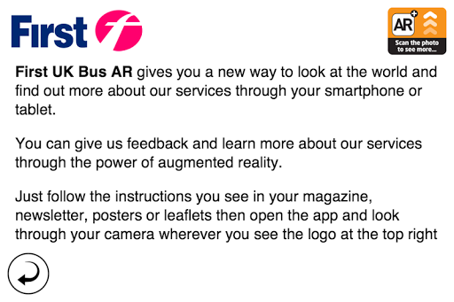 First UK Bus Augmented Reality