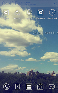 玩個人化App|Great hopes Atom Theme免費|APP試玩
