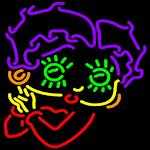 Betty Boop Neon Maze