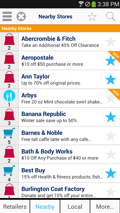 Coupons and Shopping GeoQpons- screenshot