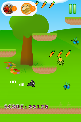 Rabbit Jumps- screenshot