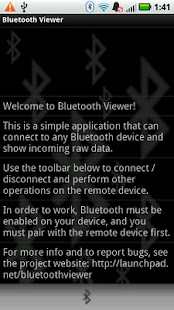Bluetooth Viewer LITE- screenshot thumbnail