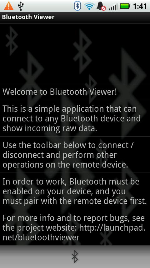 Bluetooth Viewer LITE- screenshot