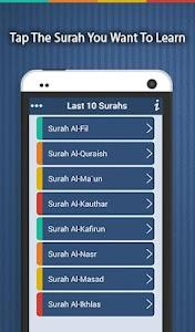 Last Ten Surahs v1.4