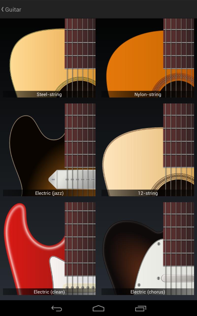 Jimi Guitar screenshot #18