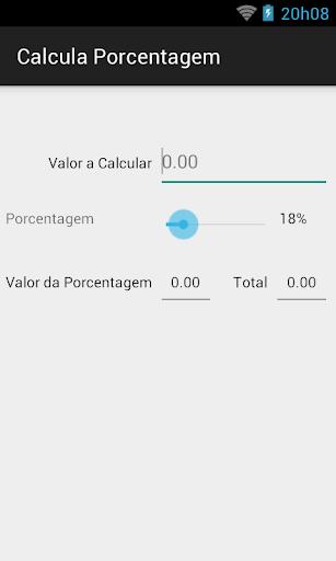 Calcula Porcentagem