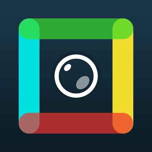 媒体与影片のInstagramのための正方形の写真 LOGO-記事Game