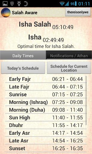 【免費生活App】Salah Aware [Prayer Times]-APP點子