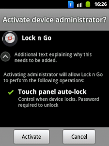 Lock n Go screenshot 1