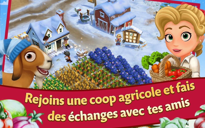 لعبة شبيهة بالمزرعة السعيدة FarmVille 2: Country Escape v2.3.149 للأندرويد