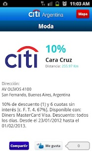 Citi Argentina - screenshot thumbnail