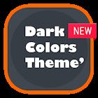 Dark Color Theme - CM12 icon