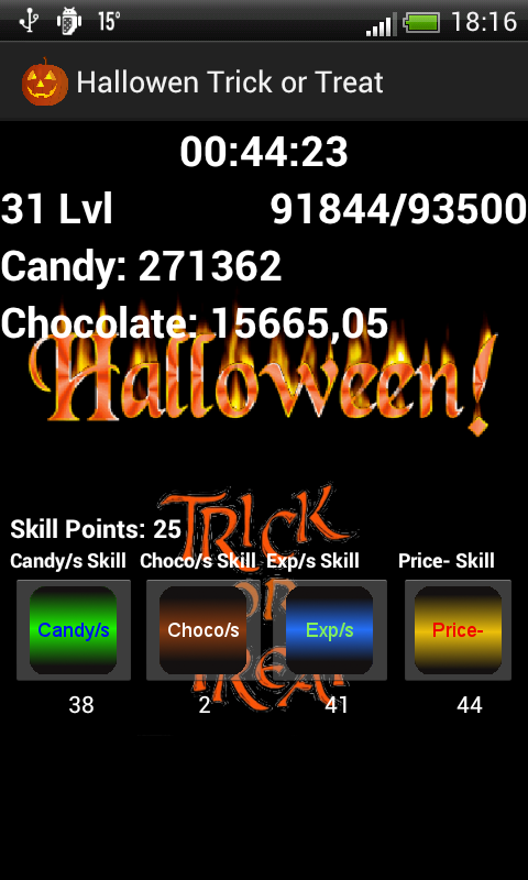 Halloween Trick or Treat - screenshot