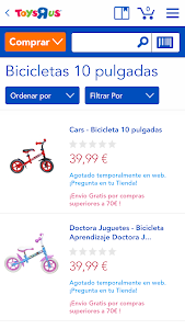 "Toys""R""Us España screenshot 2"