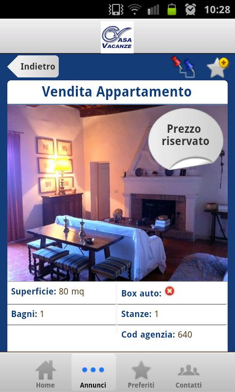 Immobiliare Casa Vacanze - screenshot