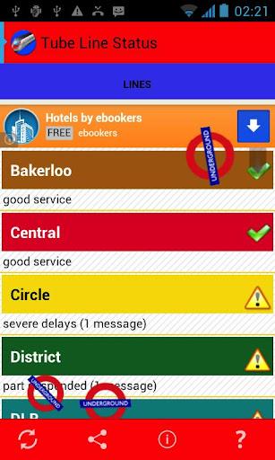 London Tube Line Status