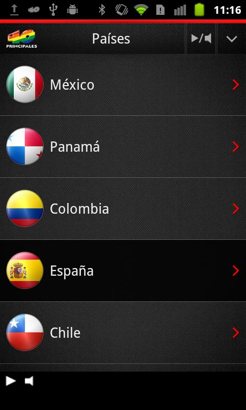 Los 40 para Android - screenshot