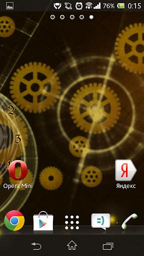 玩個人化App|Параллакс обои с часами免費|APP試玩