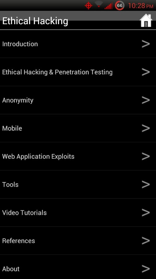 Ethical Hacking- screenshot