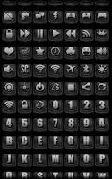 Screenshot of Darkness - Icon Pack