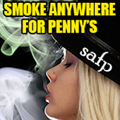 Smoke Anywhere For Penny's