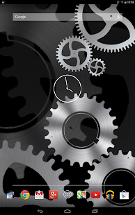 Steampunk Gears Live Wallpaper- screenshot thumbnail