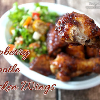 Raspberry Chipotle Chicken Wings, a Deliciously Easy Recipe!