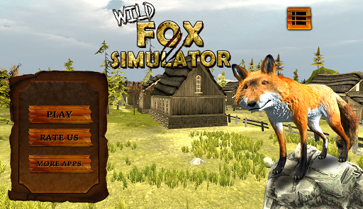 ワイルドフォックスシミュレータゲーム3D