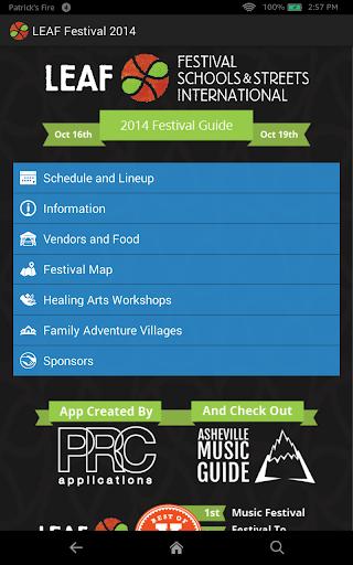 LEAF Festival 2014