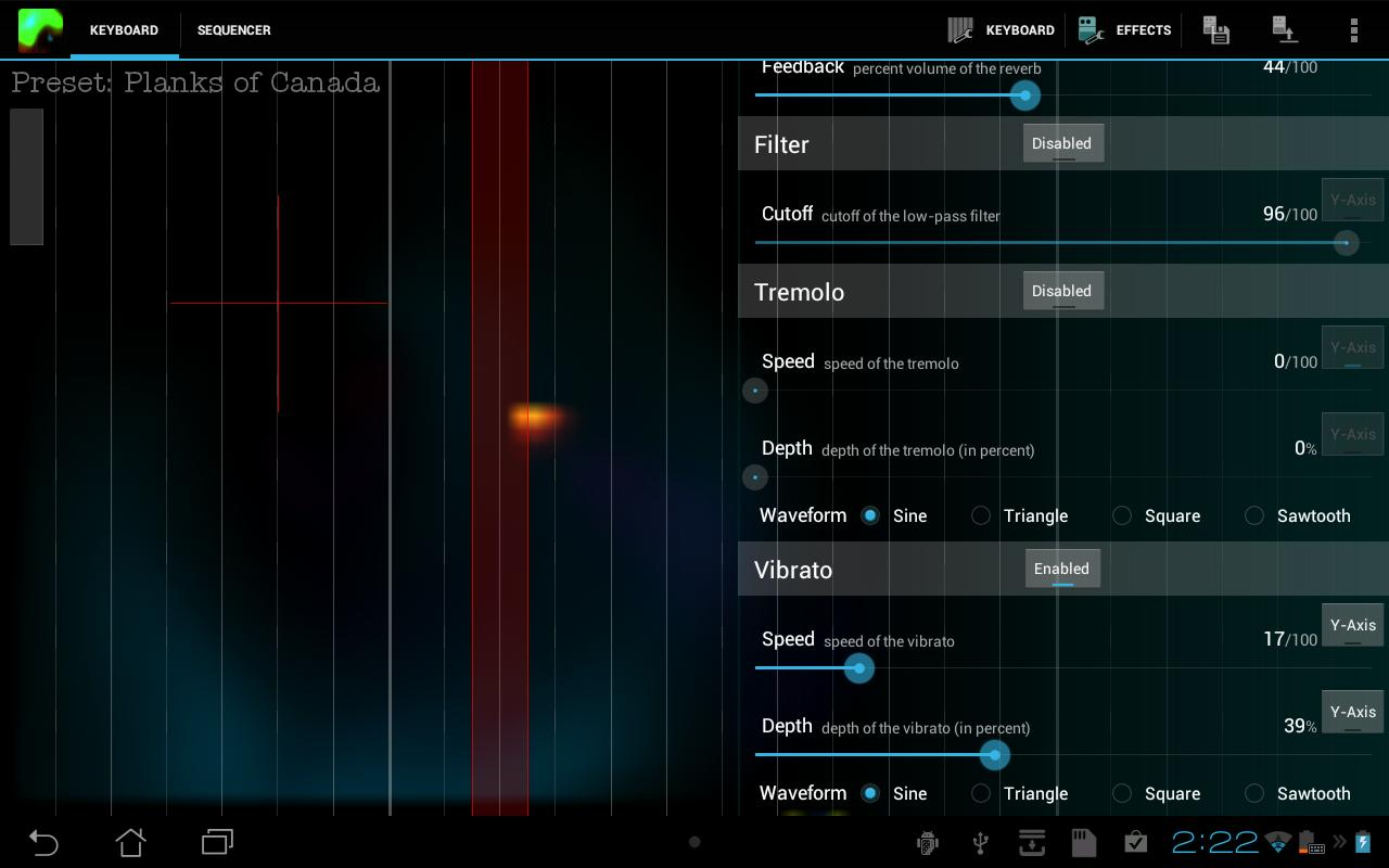 Plasma Sound HD - screenshot